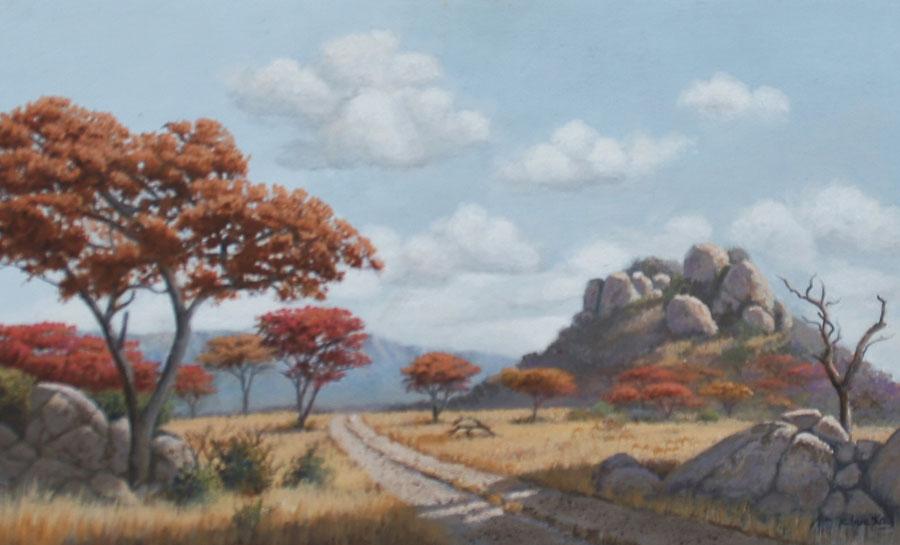 THE COUNTRY ROAD - MSASA TREES