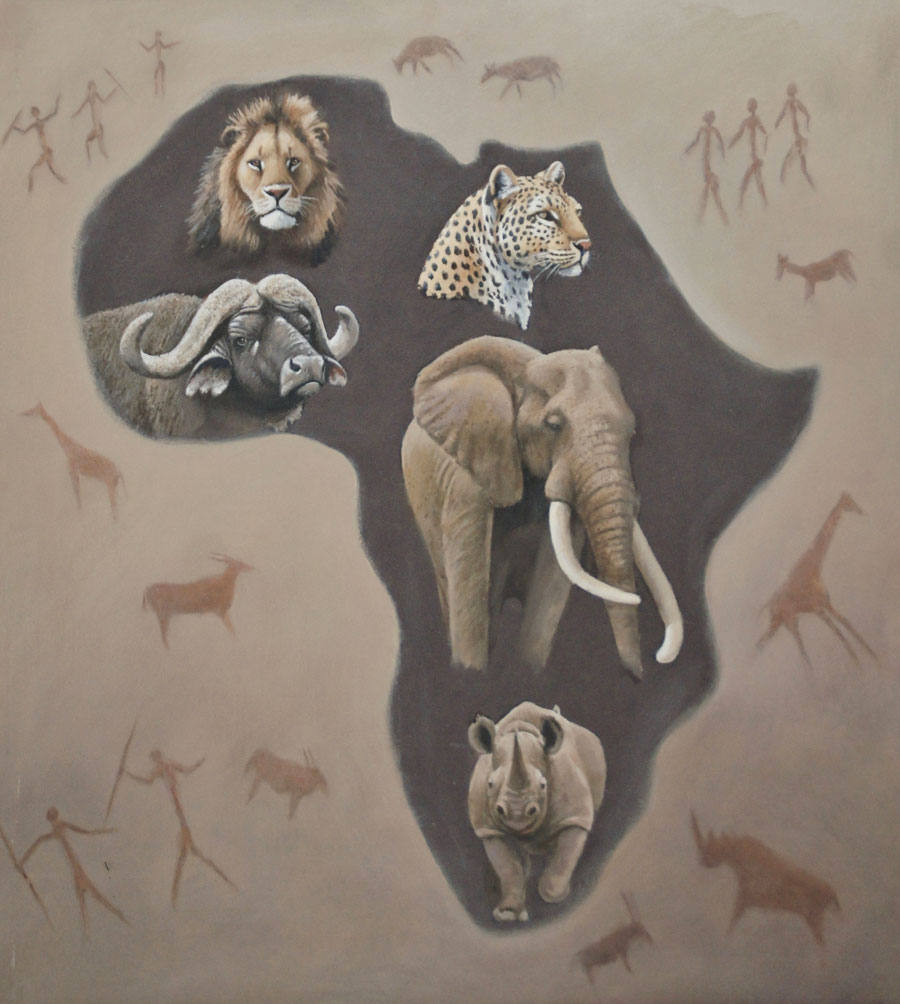 AFRICA – THE BIG FIVE