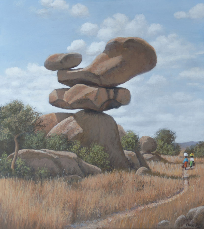 THE BALANCING ROCKS